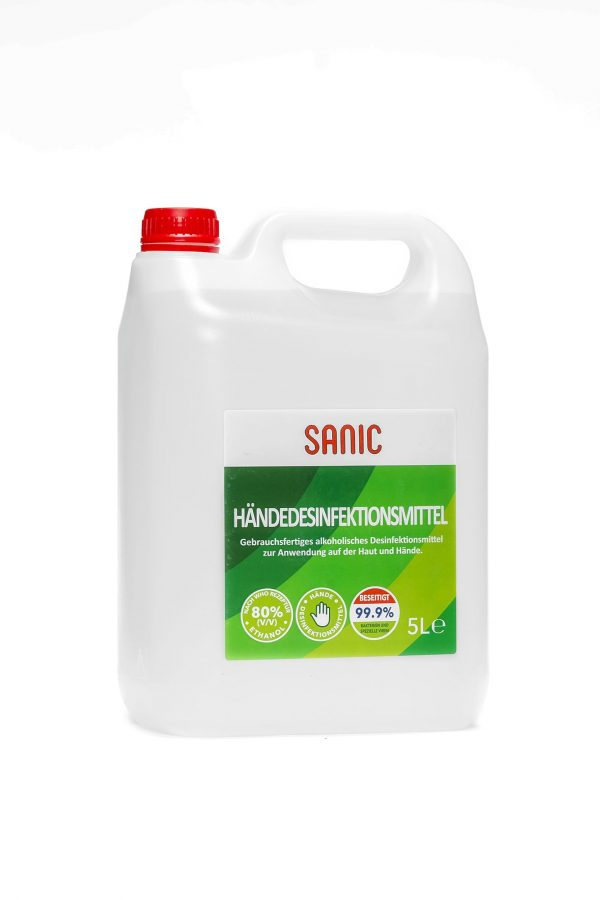 SANIC Händedesinfektionsmittel 5 Liter-min