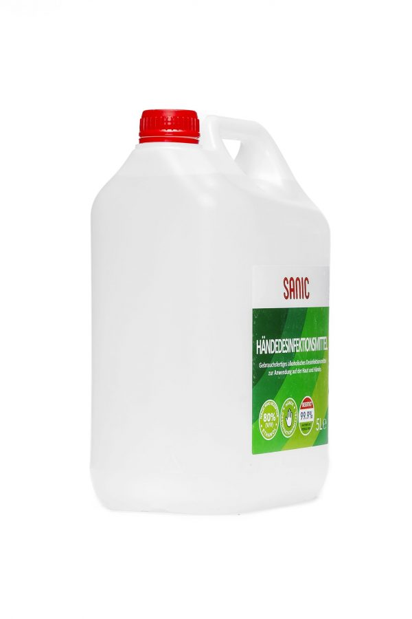SANIC Händedesinfektionsmittel 5 Liter2-min