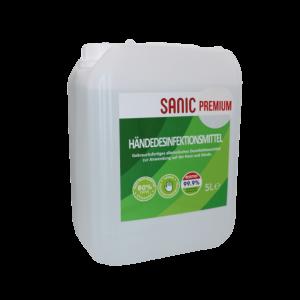 SANIC Premium Händedesinfektionsmittel 5Liter - FOTO