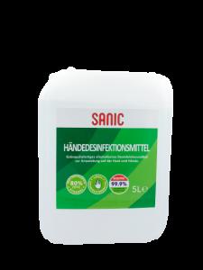 SANIC-Premium-Händedesinfektionsmittel-5Liter - FOTO