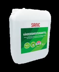 SANIC Händedesinfektionsmittel Premium 5Liter-FOTO