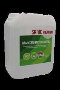 SANIC Premium Händedesinfektionsmittel 5Liter2 - FOTO