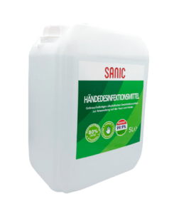 SANIC Premium Händedesinfektionsmittel 5Liter KANISTER - FOTO