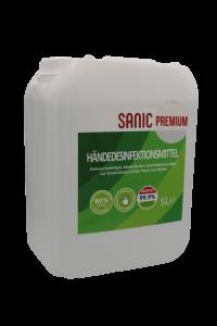 SANIC Premium Händedesinfektionsmittel 5Liter3 - FOTO