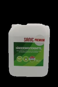 SANIC Premium Händedesinfektionsmittel 5Liter4 - FOTO