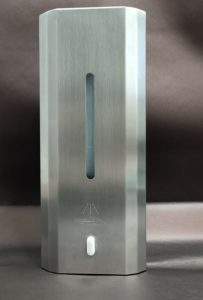 SANIC Desinfektionsspender aus Edelstahl mit Sensor - FOTO
