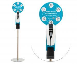 Desinfektionssäule Sensor SANIC - FOTO
