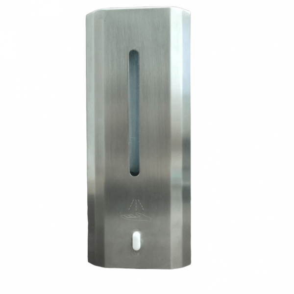 Desinfektionsspender-aus-Edelstahl-1L-Automatisch-Infrarot-Sensor-kontaktlos