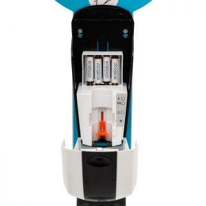 SANIC Desinfektionssäule mit Sensor Ständer aus Edelstahl & Spender8 - FOTO