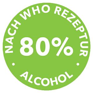 WHO Rezeptur 80 % Alcohol - foto