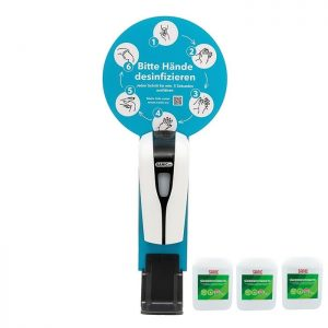 SANIC Premium Händedesinfektionsmittel 5Liter - 3 kanister 15 Liter