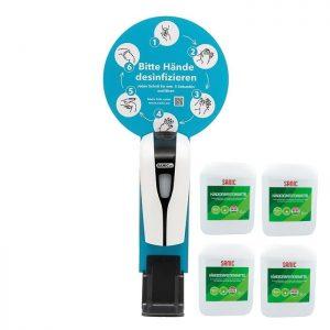 SANIC Premium Händedesinfektionsmittel 5Liter - 4 kanister 20Liter - FOTO