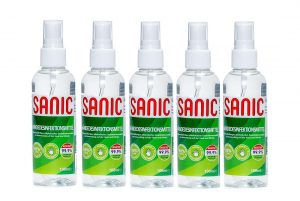 SANIC Händedesinfektionsmittel 100 ml – 2-nabor 5 - FOTO