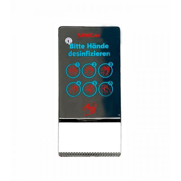 SANIC Edelstahl Desinfektionsspender mit Sensor (Glänzend) 1