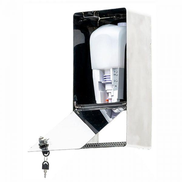SANIC Edelstahl Desinfektionsspender mit Sensor (Glänzend) 4
