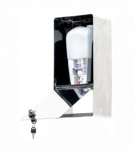 SANIC Desinfektionsspender aus Edelstahl mit Sensor - hande-desinfektion.shop1 - FOTO