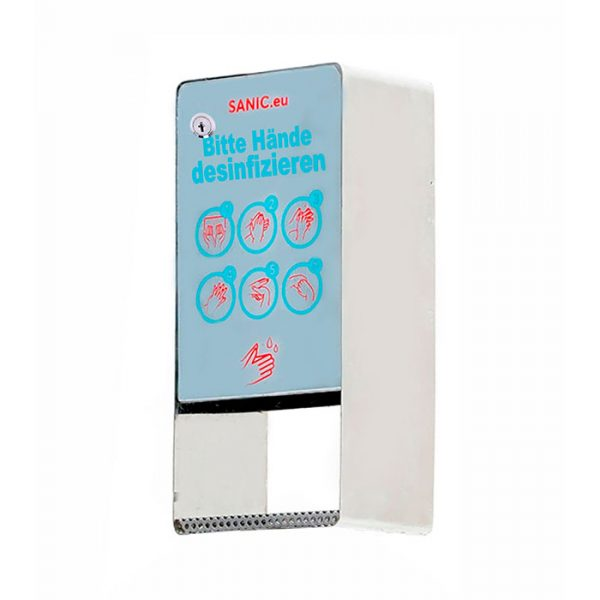 SANIC Edelstahl Desinfektionsspender mit Sensor (Glänzend) 2