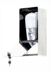 SANIC Desinfektionsspender aus Edelstahl mit Sensor 3 - FOTO