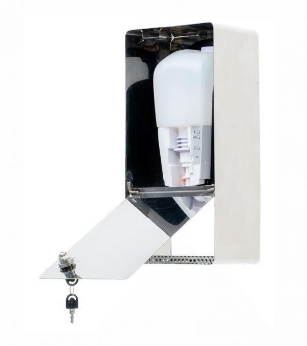 SANIC Desinfektionsspender aus Edelstahl mit Sensor – hande-desinfektion.shop