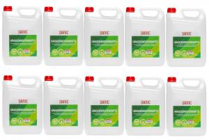 SANIC Händedesinfektionsmittel 5 Liter - nabor 10 - FOTO
