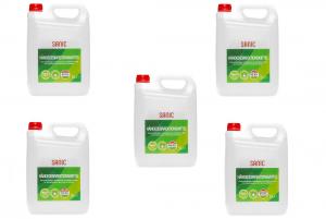 SANIC Händedesinfektionsmittel 5 Liter - nabor 5 - FOTO