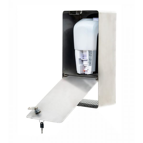 SANIC Edelstahl Desinfektionsspender mit Sensor (Glänzend) 3