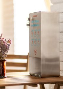 SANIC Desinfektionsspender aus Edelstahl mit Sensor 6 - FOTO