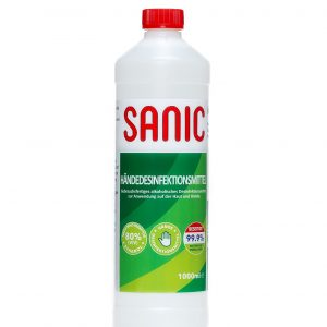 SANIC Händedesinfektionsmittel 1000ml - FOTO