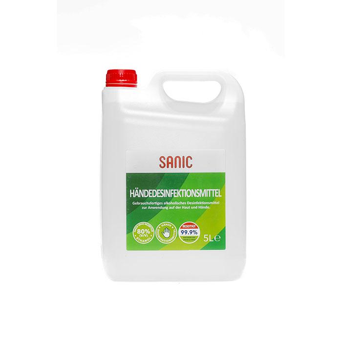 Händedesinfektionsmittel 5 Liter – SANIC