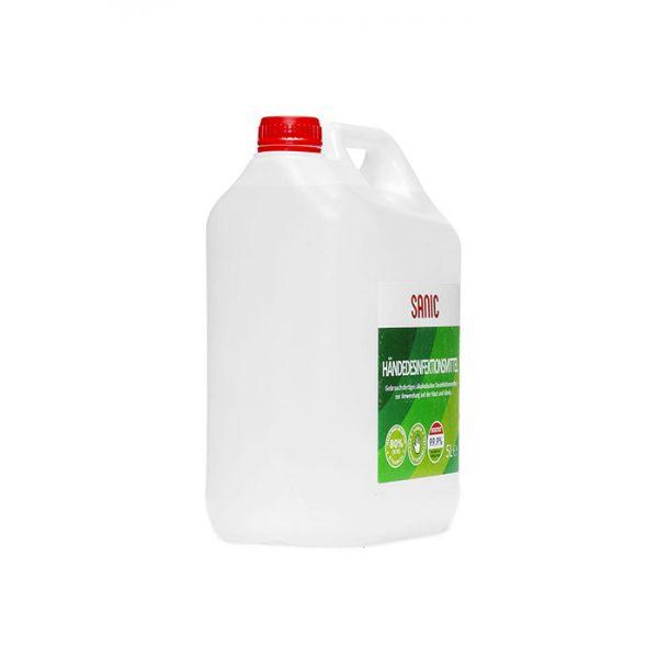 SANIC Händedesinfektionsmittel 5 Liter2