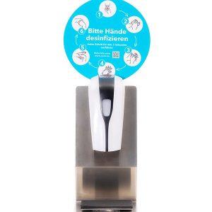 SANIC Tisch-Desinfektionsspender mit Sensor - hande-desinfektion - FOTO