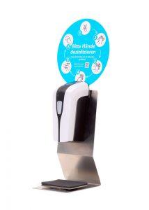 SANIC Tisch-Desinfektionsspender mit Sensor - hande-desinfektion 1 - FOTO