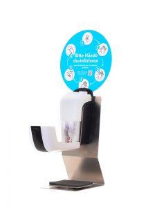 SANIC Tisch-Desinfektionsspender mit Sensor - hande-desinfektion 3 - FOTO