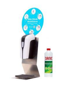 SANIC Tisch-Desinfektionsspender mit Sensor - FOTO
