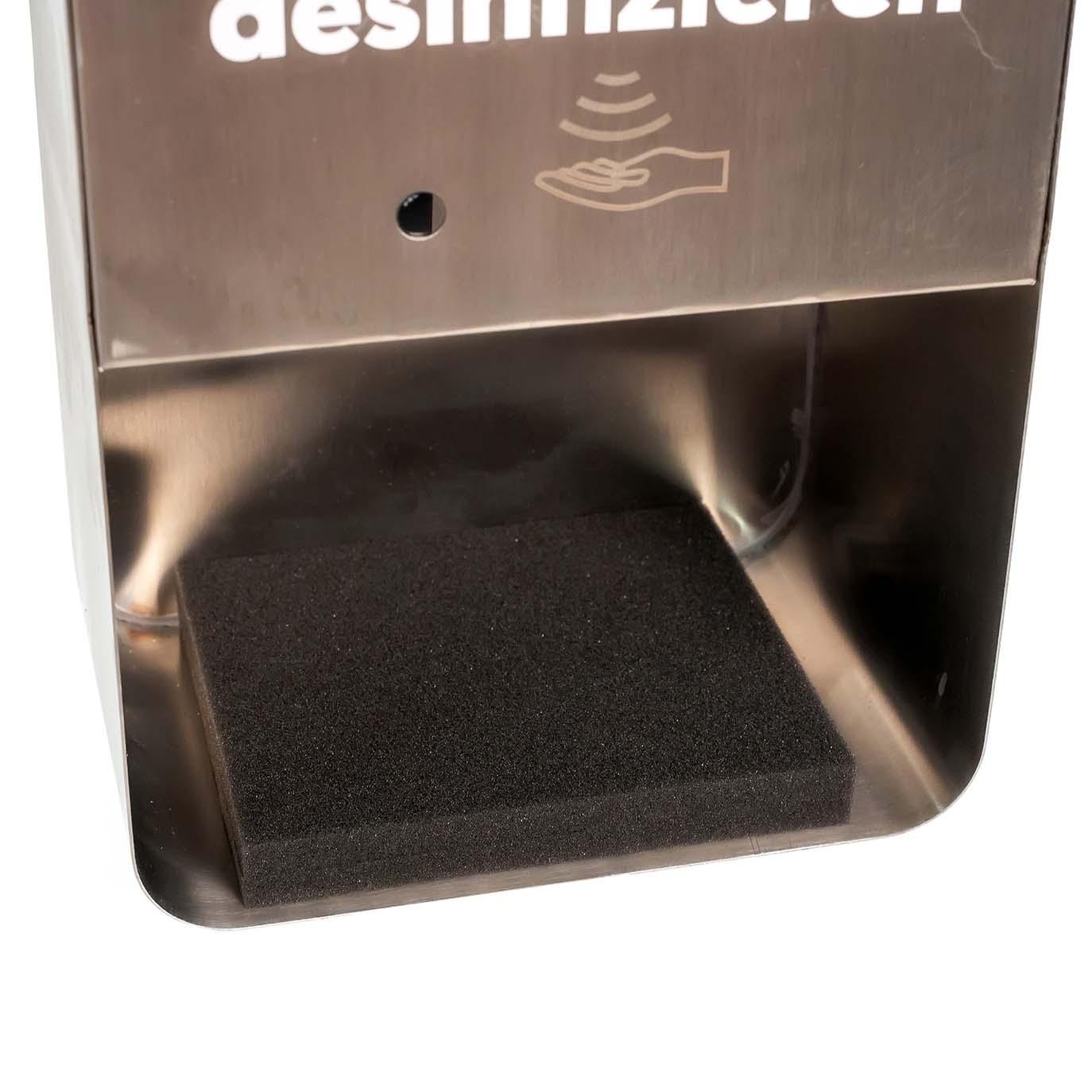 SANIC Edelstahl Wand-Desinfektionsstation mit Sensor