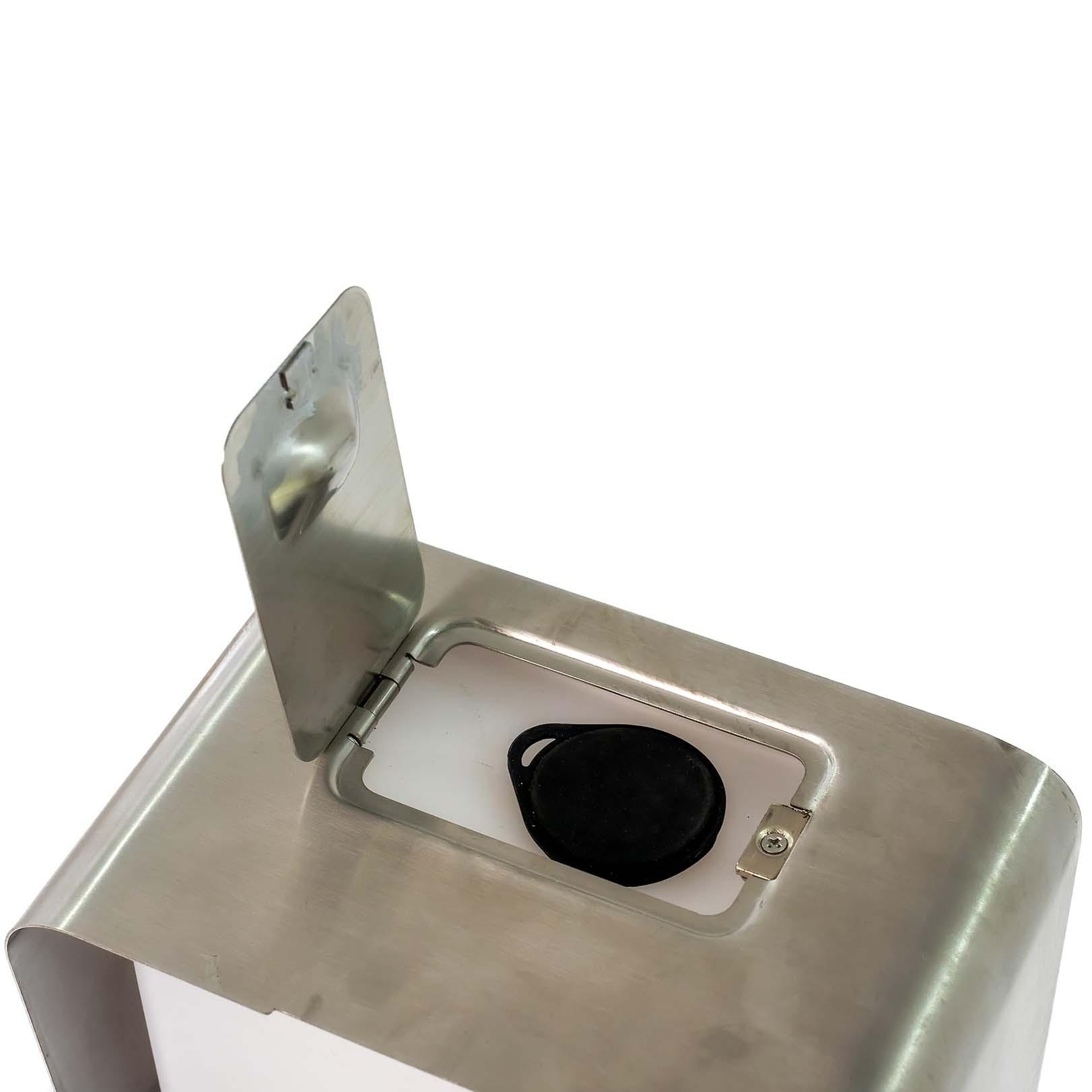 SANIC Edelstahl Desinfektionssäule mit Sensor